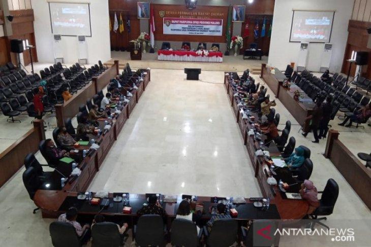 DPRD Maluku paripurna penyerahan dua Ranperda secara virtual
