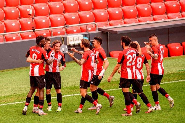 Liga Spanyol: Bilbao tundukkan Levante demi tinggalkan zona degradasi