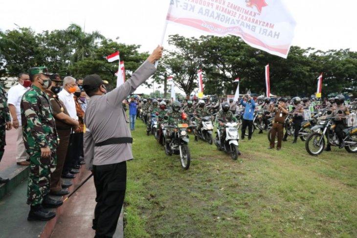Polda Malut salurkan APD sambut Hari Bhayangkara