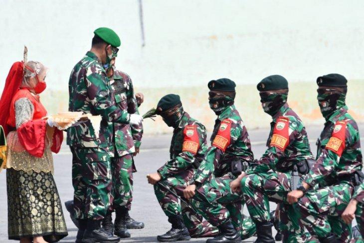 600 personel Yonif 100/PS amankan perbatasan RI-PNG