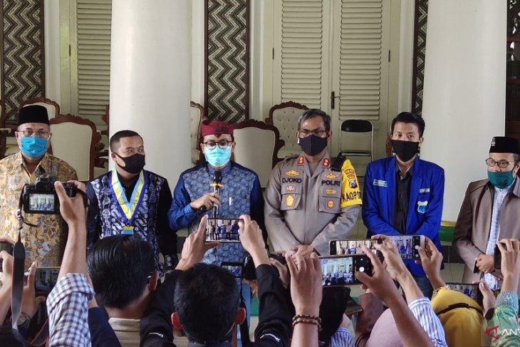 Terkait kekerasan unjuk rasa, Polres-PMII sepakat berdamai