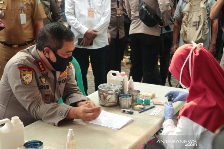 Polri gandeng PMI donoer darah jaga ketersediaan darah di Banten