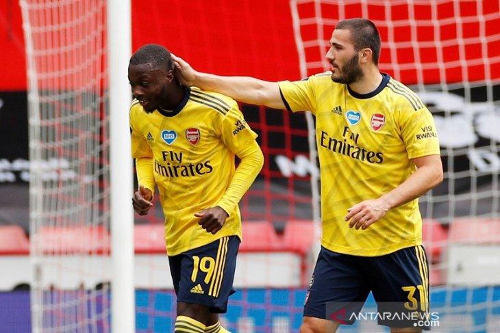 Pepe dipuji Mikel Arteta setelah Arsenal mengalahkan Sheffield United