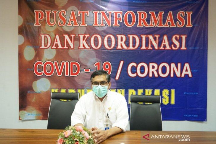 Pasien positif COVID-19 di Kabupaten Bekasi tersisa 10 kasus lagi