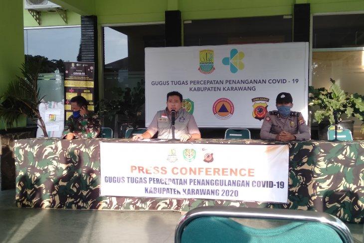 Jumlah kasus positif COVID-19 di Karawang tersisa 14 orang