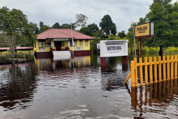 Banjir masih rendam daerah pesisir sungai Kapuas