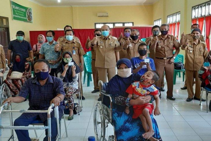 Sambut HUT Tebing Tinggi, Pemkot bantu warga disabilitas