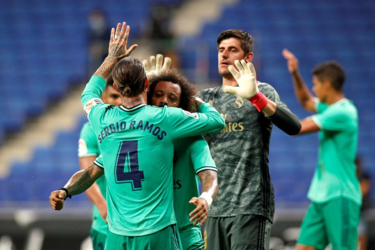 Assist brilian Benzema membawa Madrid menang 1-0 atas Espanyol