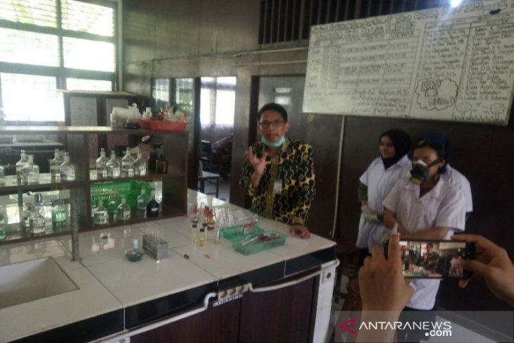 TPL dan USU kerja sama produksi hand sanitizer dari daun eukaliptus