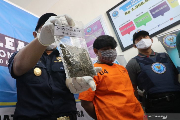 Ungkap kasus peredaran ganja di kota Kediri
