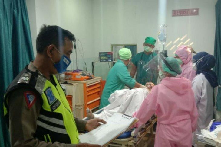 Pengendara motor tewas tertabrak mobil di lintas Perdagangan Simalungun