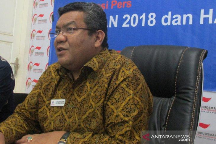 Ombudsman Aceh terima 140 laporan maladministrasi sepanjang 2020