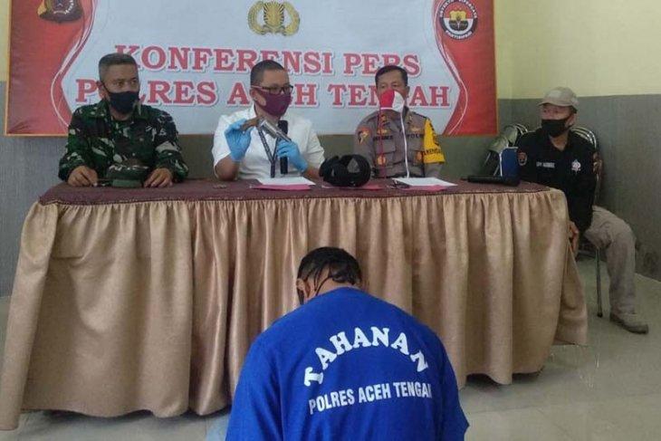 Polisi amankan pria mengaku Kopassus di Aceh Tengah, satu senjata api turut disita
