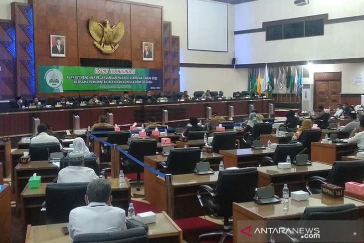 DPRD se-Aceh sepakati pilkada digelar 2022