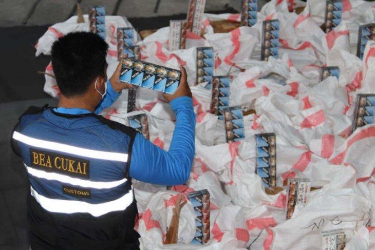 Penyelundupan 4,4 juta rokok ilegal diungkap Bea Cukai Jateng-DIY
