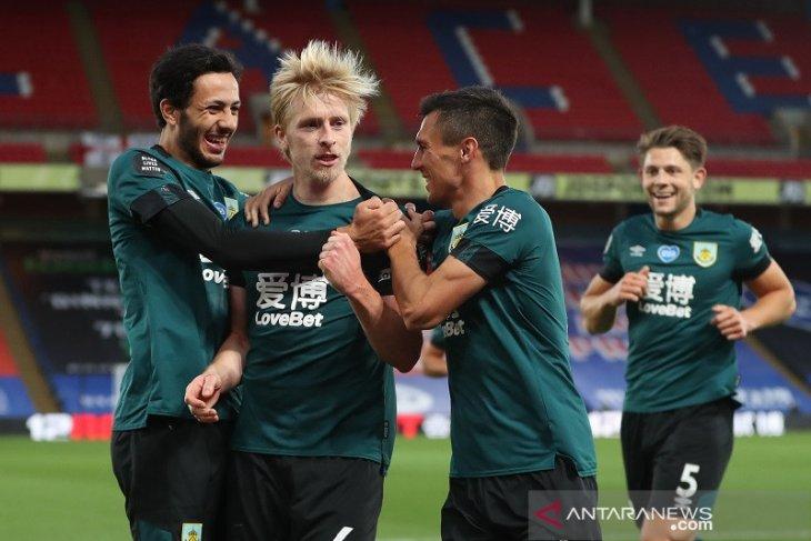Liga Inggris: Burnley tundukkan Crystal Palace 1-0