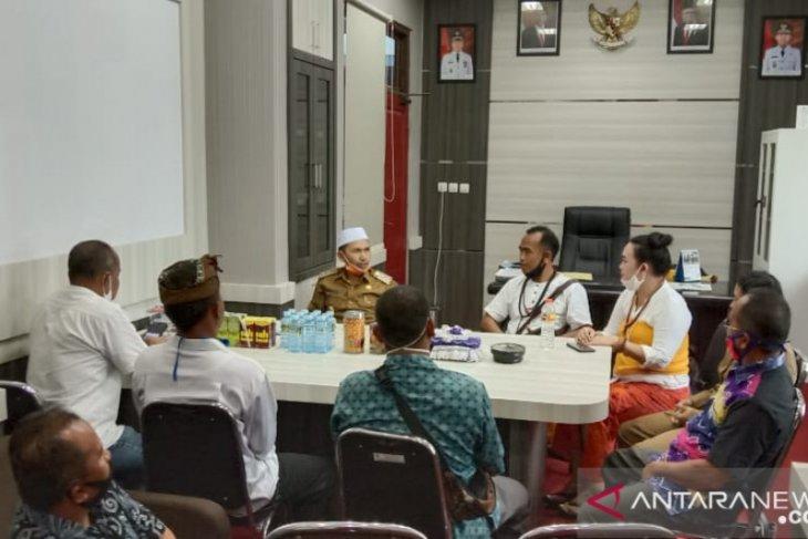Wabup HST terima kunjungan Tokoh Agama Hindu Kalsel
