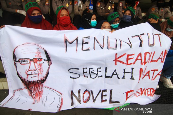 Tim advokasi Novel: vonis ringan agar terdakwa tak dipecat dari Polri