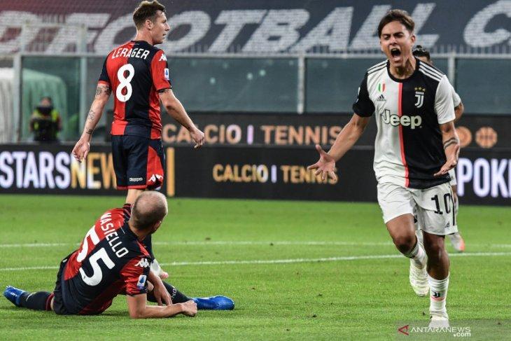 Juve kembali unggul empat poin usai tundukkan Genoa