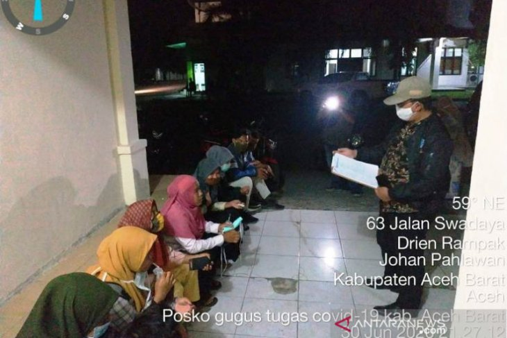 Diduga langgar syariat Islam dan protokol kesehatan, sembilan pekerja asal Sumut dipulangkan dari Aceh Barat