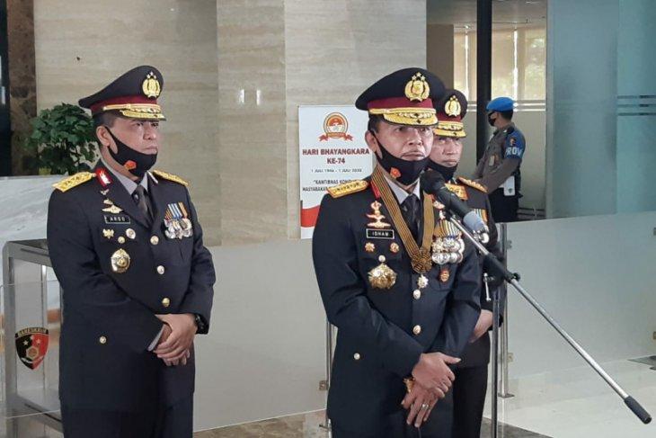 Terkait kasus Joko Tjandra, Dua jenderal polisi dicopot dari jabatannya