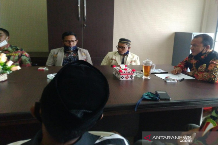 Ketua DPRD Tapsel menerima audiensi PDP Muhammadiyah