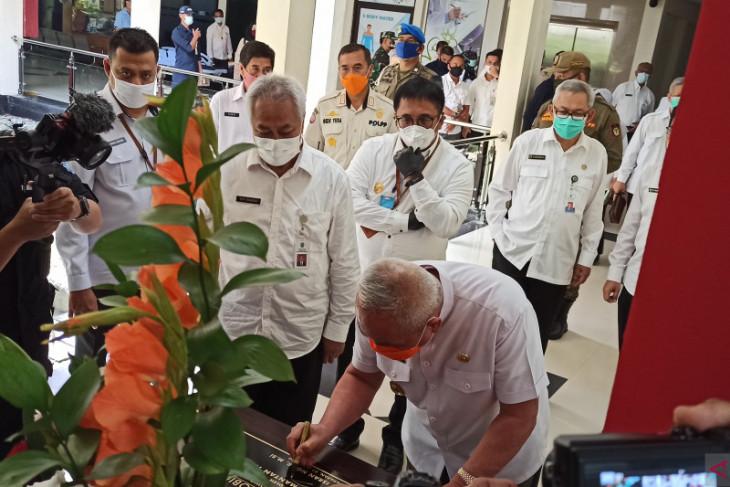 Gubernur resmikan pengoperasian tiga unit layanan RSKD Balikpapan