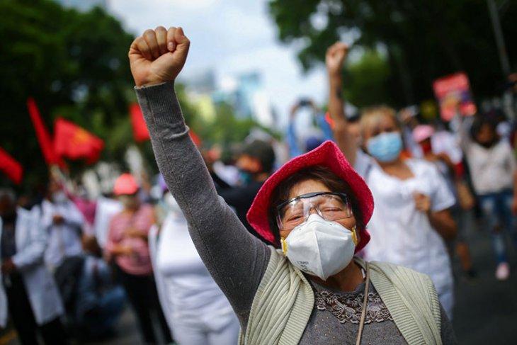 Korban meninggal karena COVID-19 di Meksiko lewati 30 ribu