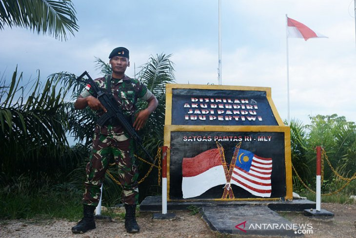 TNI bangun infrastruktur daerah perbatasan melalui program TMMD