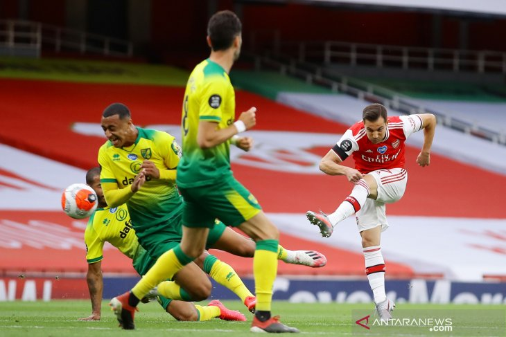Bantai Norwich, Arsenal dekati zona kualifikasi Eropa
