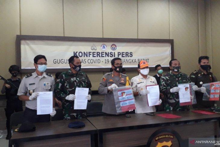 Polres Bangka Barat kejar pemalsu dokumen tes cepat
