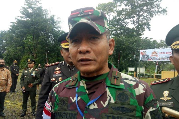 Danrem Merauke pastikan prajurit TNI Satgas Perbatasan bebas COVID-19