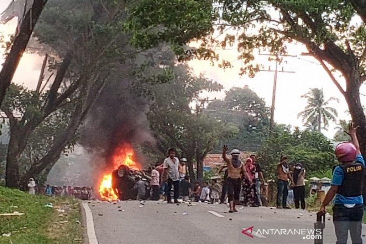 Pascakerusuhan Mompang Julu, tiga orang diamankan polisi