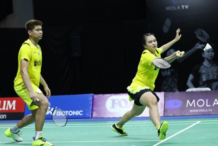 Praveen/Melati lolos babak kedua Thailand Open