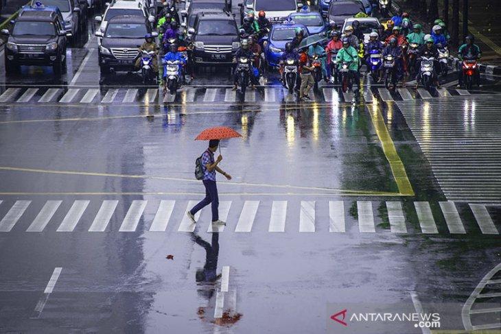 BMKG perkirakan hujan akan guyur sebagian wilayah Jakarta