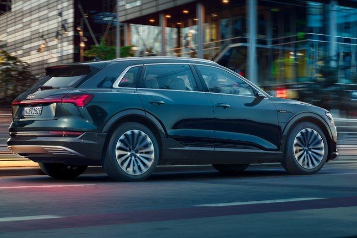 Audi luncurkan mobil e-tron listrik di Korea Selatan