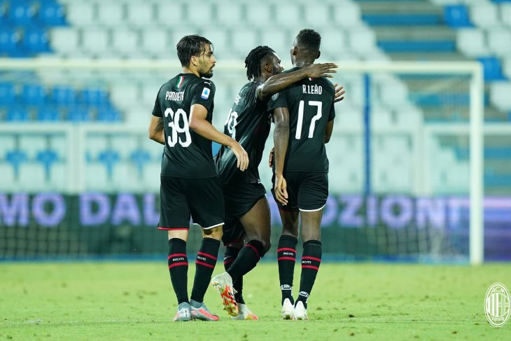 AC Milan bermain imbang dengan SPAL setelah tertinggal dua gol