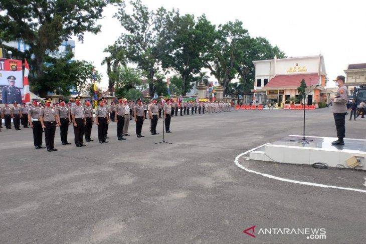 473 personel Polri dan ASN Polda Jambi naik pangkat