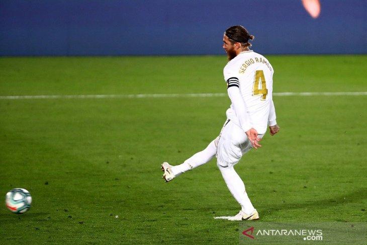 Liga Spanyol: Real Madrid mantap puncaki klasemen berkat penalti Ramos