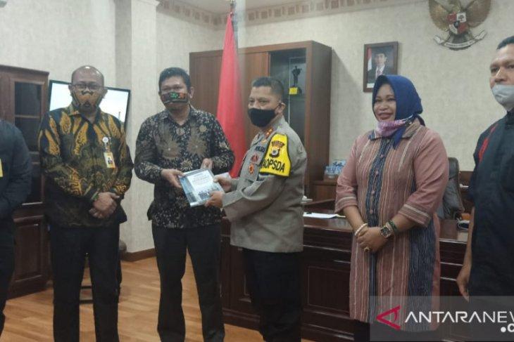 Bawaslu minta petunjuk pengamanan pilkada serentak 2020 dari Polda Maluku
