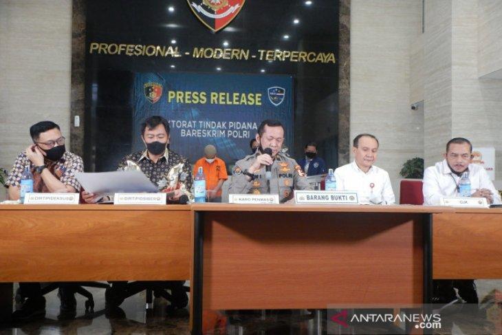 Bareskrim Polri tangkap dua penyebar hoaks ajakan tarik dana perbankan