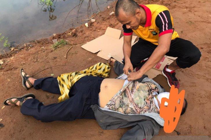 Sedang mancing, seorang pria alami kejang dan langsung meninggal