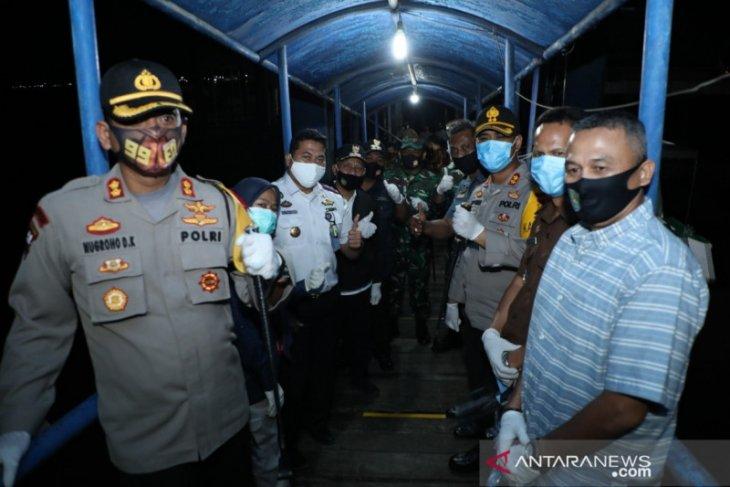 Kepulangan 216 PMI asal Asahan langsung disambut Bupati dan Forkopimda