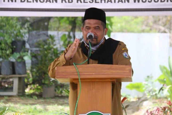 Bupati Sarkawi minta camat dan reje antisipasi Karhutla