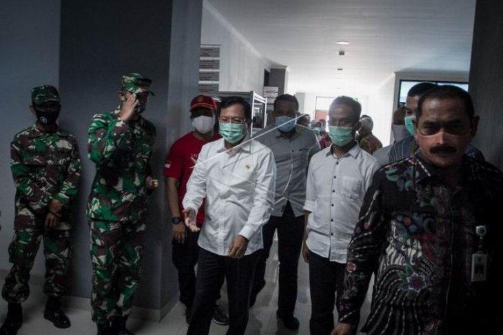 Menkes kunjungi RSUD Bung Karno