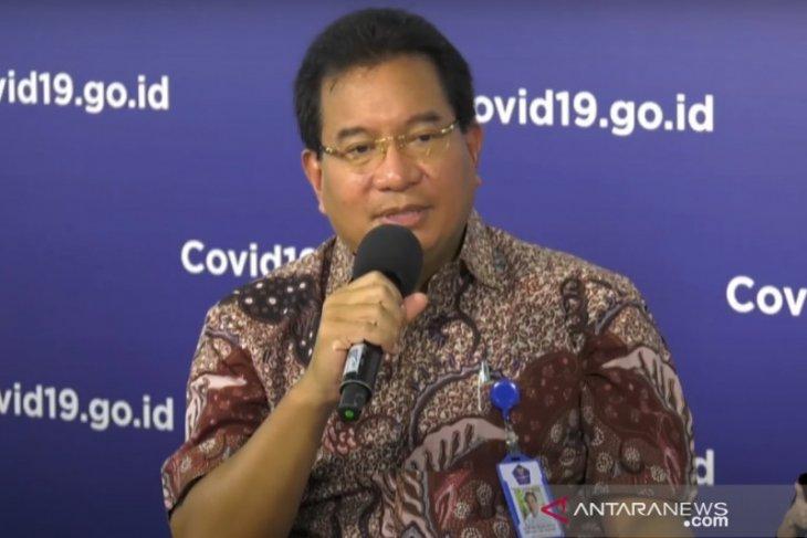 Ketua Tim Pakar Gugus Tugas Wiku Adisasmito lihat tren penurunan zona merah