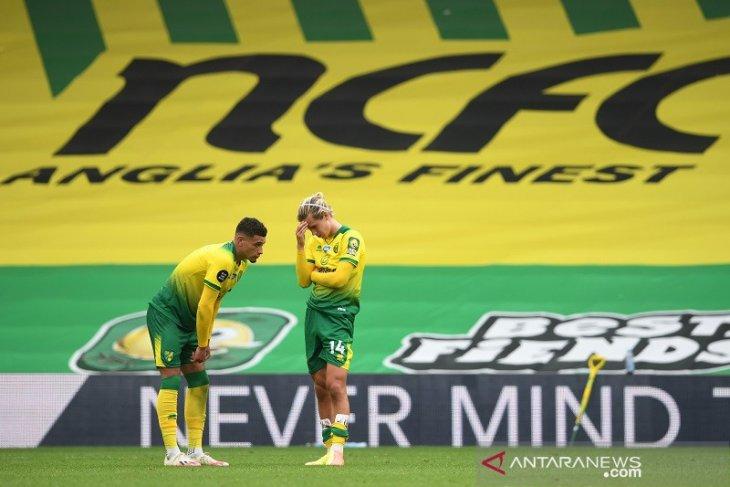 Norwich kunci tiket promosi ke Liga Premier Inggris