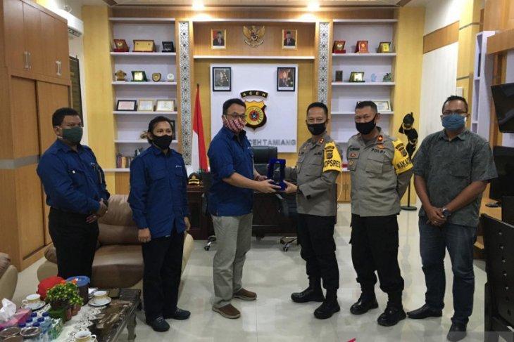 Pertamina Rantau jalin silaturrahim kapolres Aceh Tamiang baru