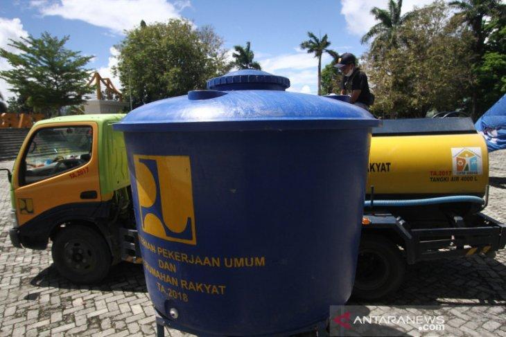 Kementerian PUPR salurkan air bersih ke korban banjir Gorontalo