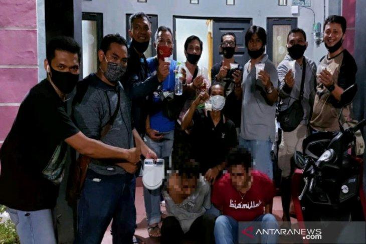 BNNP Kalsel  sita 412 gram sabu-sabu dari dua orang pengedar